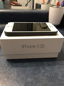 White and silver iPhone 5s