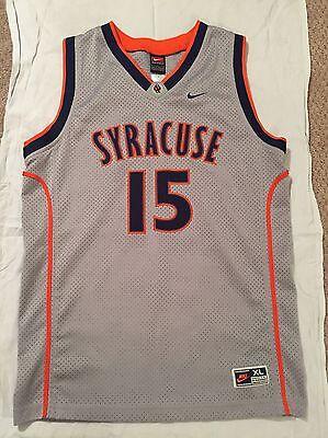 Carmelo Anthony Syracuse University Jersey Youth Xl  Fits Mens Size Small
