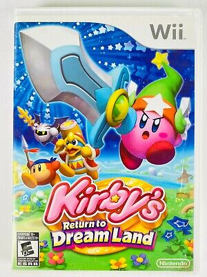 Kirby's Return to Dream Land (Nintendo Wii, 2011) Authentic, Tested
