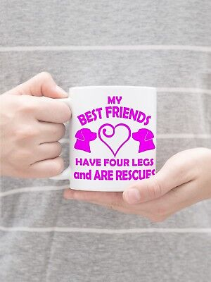 Labrador Retriever Rescue Dog Lover Charitable Valentine 11 oz Gift Mug  for sale  Rockford