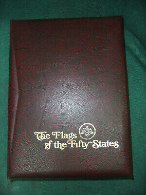 US, Complete Flags of the 50 States, FDCs, no addresses, Fleetwood w/case & (Us Address Book)