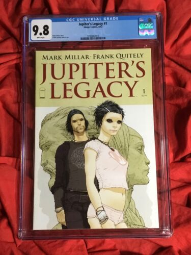 CGC 9.8~JUPITER'S LEGACY #1~1st PRINT COVER A~QUITELY~NEW NETFLIX TV SHOW!!