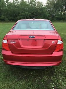 Red Ford Fusion For Sale Edmonton Edmonton Area image 3