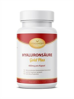 HYALURONSÄURE 400mg/Kaps 90 Kapseln! Haut & Gelenke - Beauty made in Germany