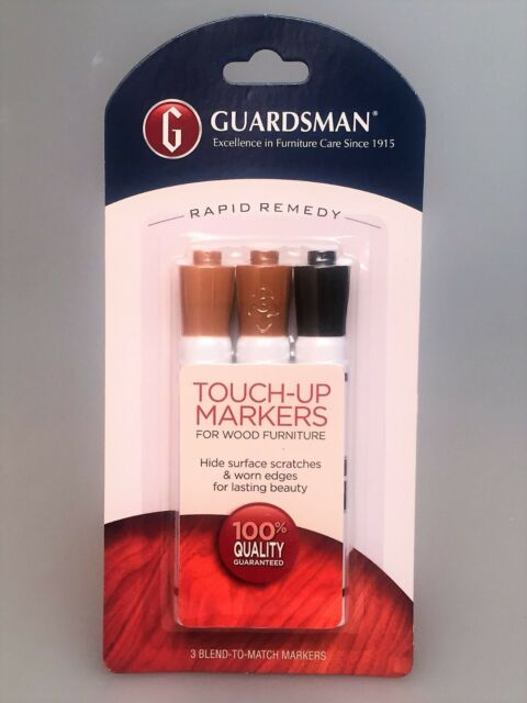 furniture touch up markers. guardsman furniture touch up markers (set of 3)