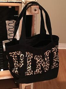Victoria's Secret Pink Bag leopard