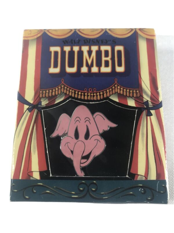 Walt Disney Gallery Dumbo Pink Elephants On Parade Pin Trading New in Box