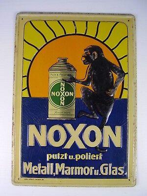 Antikes Blech Schild NOXON vor 1945