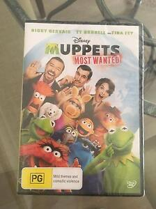 The Muppets Most Wanted DVD Cammeray North Sydney Area Preview
