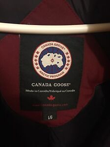 Authentic Canada goose Dawson parka size large