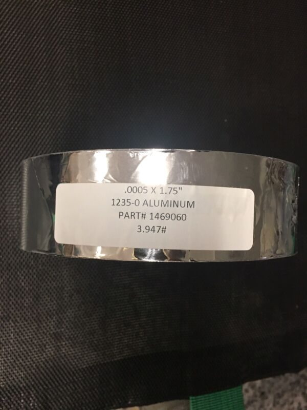 Aluminum Foil 3+ lbs of 1235 Aluminum Roll Craft Hair Cook Art .0005 x 1.75""