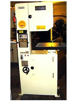 Accura 01149 14 Inch Vertical Metal Band Saw Weldergrinder Included