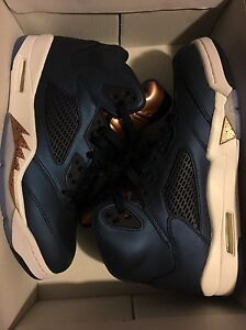 Air Jordan Olympic 5 - shoe size 9.5 Brand New DS