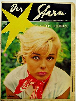 *Der Stern* Nr. 39/29.9.56 Cramer, Palmer,Gagen, Rassismus, Ufa 1950er-Original