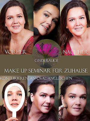 Make up Gesicht konturieren