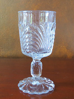 Cambridge Caprice CRYSTAL CLEAR Pressed Water Goblet(s) Clear Crystal Water Goblet
