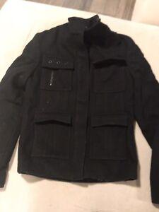 Club Monaco Wool Jacket - women's xs