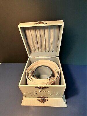 Antique 1884 Men's Meyrick Collar Seizers and Collar Studs in a The Original Box
