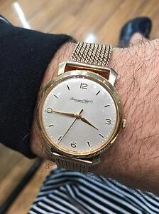 IWC Vintage. 1950's Solid Gold Rose Bay Eastern Suburbs Preview