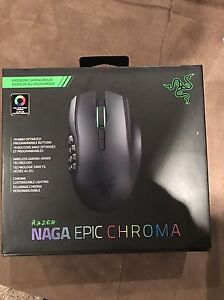 NAGA EPIC CHROMA GAMING MOUSE BRAND NEW