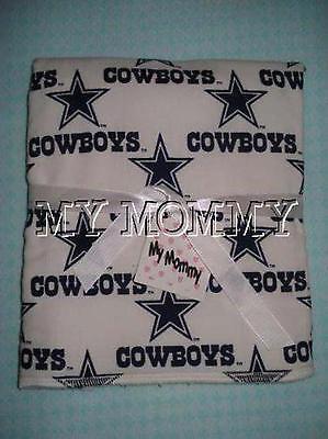 Handmade Dallas Cowboys Football NFL Burp Cloth Burp Rag Infant Newborn Boy Girl](Dallas Cowboys Baby Clothes)