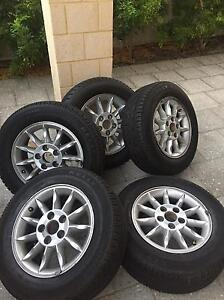 Rims and Tyres for sale East Cannington Canning Area Preview
