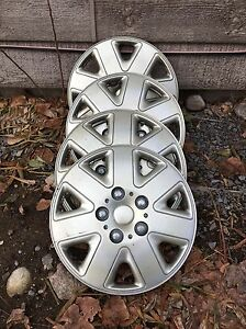 "Four 16 ""wheel covers"