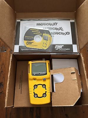 Gas Alert Microclip Xl Bw Technologies Multigas Gas Detector Monitor Calibrated