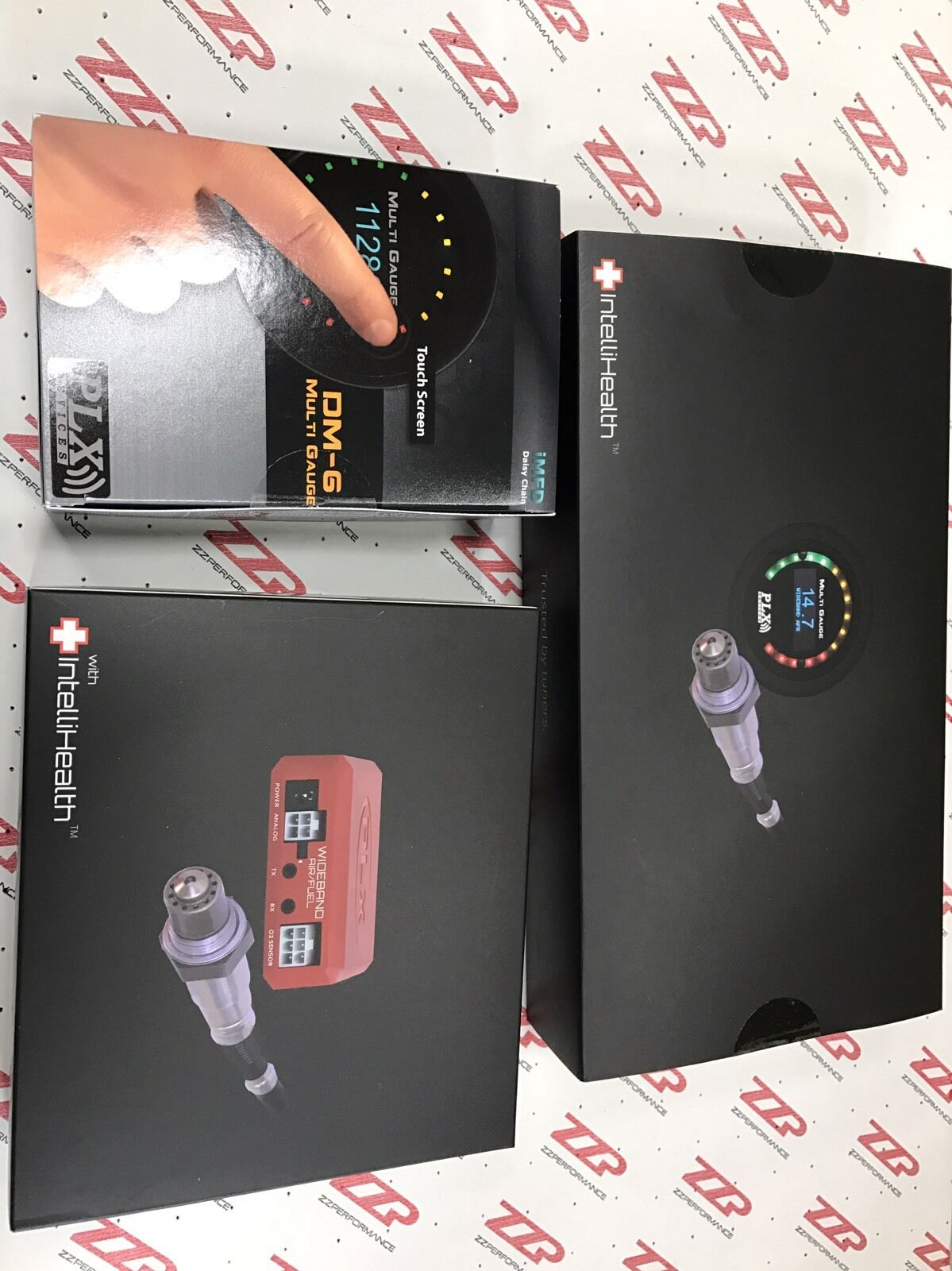 PLX Devices SM-AFR Wideband CMLINKAFR MultiGauge Link Combo PN