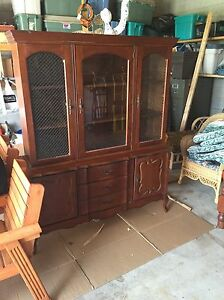 1960 Antique China Cabinet