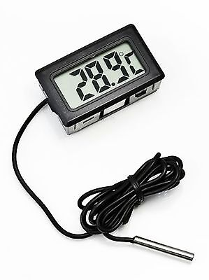 Refrigeration Freezer Refrigerator Thermometer Digital Temperature Meter W Probe