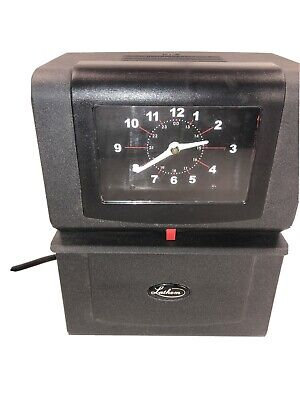 Lathem 4001 Punch Electric Business Time Clock Needs Lock