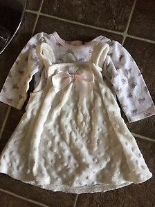 3 baby girl outfits for $10