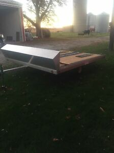 10ft Open Snowmobile Trailer London Ontario image 1
