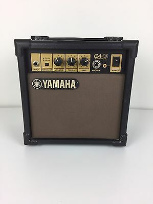 Yamaha GA-10 Guitar Amplifier 230v 10w Small Bass Treble Busking