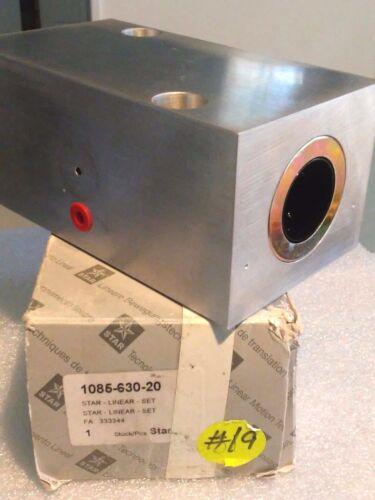 Bosch Rexroth Star 1085-630-20 Linear Bearing Block Set