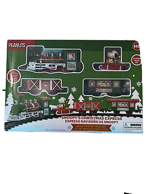 Peanuts Snoopy Express Christmas Holiday Train Set