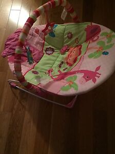 Bright Stars bouncy chair (girls) West Island Greater Montréal image 4
