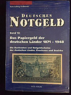 Deutsches Notgeld, Das Papiergeld der dt. Länder 1871-1948,  Band 10, Grabowski