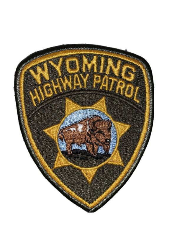 Wyoming Police Patch Wyoming Highway Patrol Patch WY
