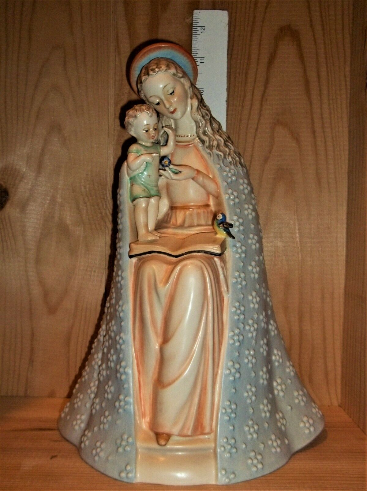 Hummel Flower Madonna Figurine 11 1/2 Tall 10/III-TMK 3 Beautiful  - $220.00