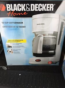 Brand new coffee makers