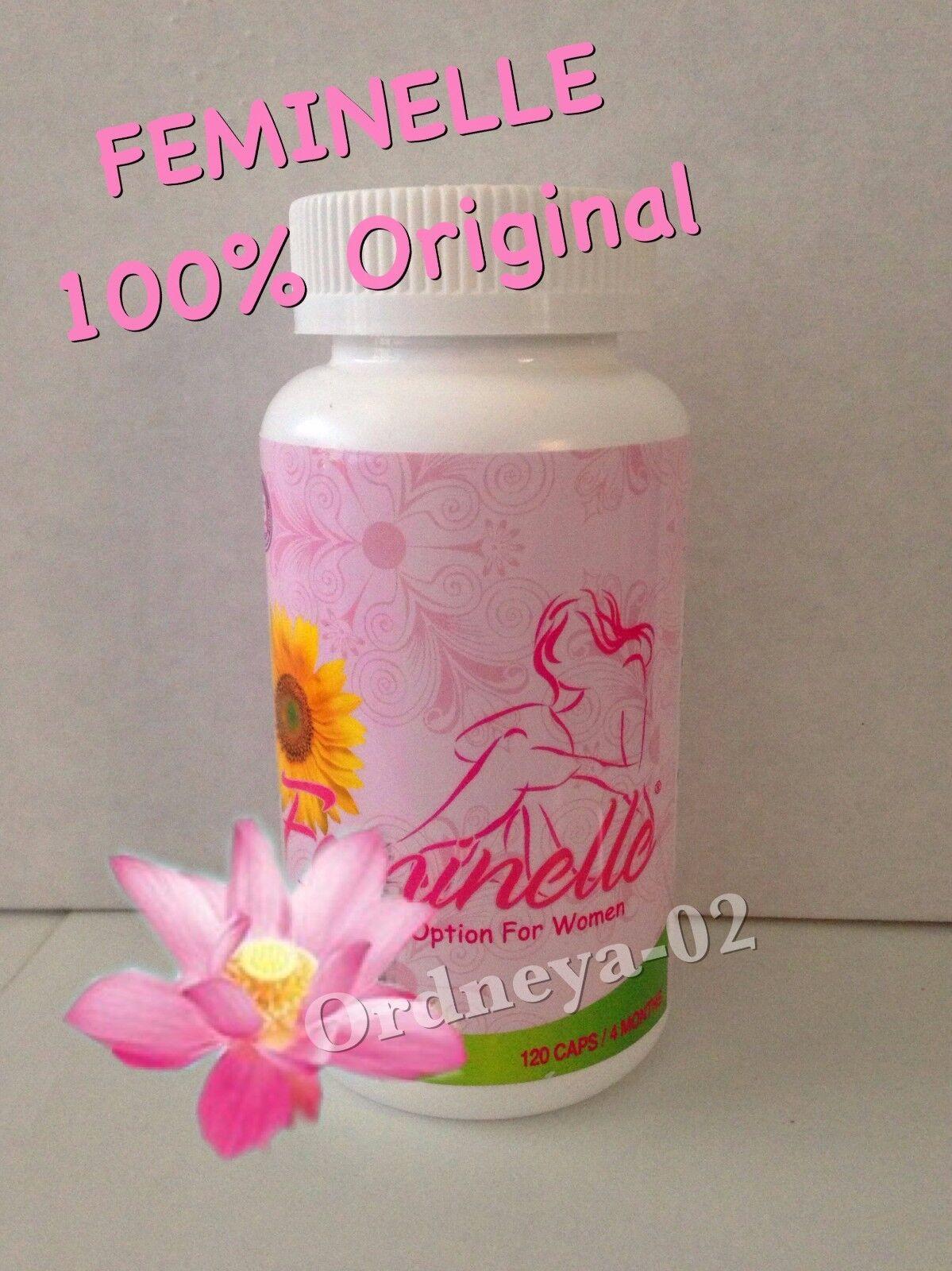 Feminelle 120 Capsules Control Menopause Woman Menopausia...