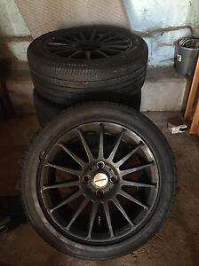 4 set of 15 wheels and 90%tires Eight Mile Plains Brisbane South West Preview