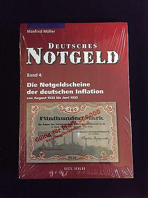 Deutsches Notgeld, Die Notgeldscheine der deutschen Inflation, Band 4, Müller