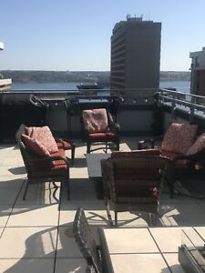 Great Downtown Apartment with Water View and Massive Patio