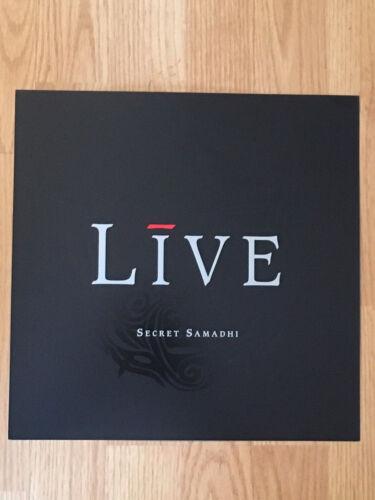 LIVE Secret Samadhi Album Flat Double Sided Record Store Display Promo 1997