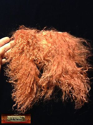 Used, M01111 MOREZMORE Hair Tibetan Lamb Remnants COPPER AUBURN Doll Baby Wig A60 for sale  Shipping to Canada