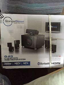 2500W-5.1 Bluetooth HDTV-MP4 HOME THEATER