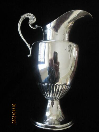 """Stunning 7"""" Sterling Sliver Mexican Pitcher in Excellent Condition"""